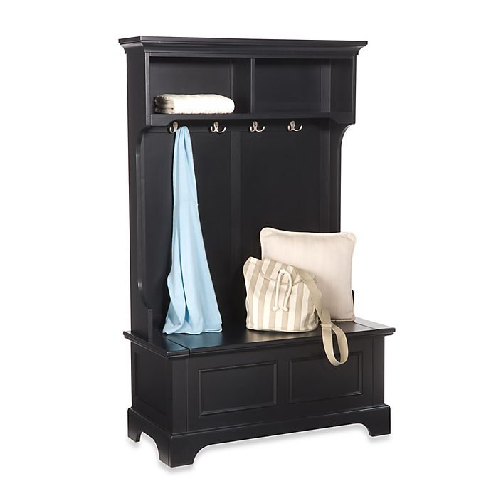 View A Larger Version Of This Product Image Click To Zoom Alternate 1 For Home Styles Bedford Hall Tree And Storage Bench