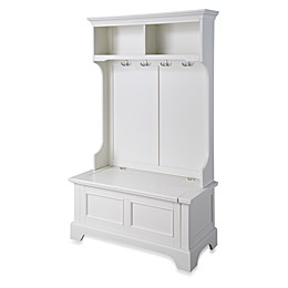 Home Styles Naples Hall Tree and Storage Bench