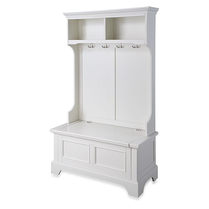 Alternate image 1 for Home Styles Naples Hall Tree and Storage Bench