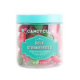 Candy Club 7 oz. Sour Strawberries