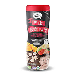 Nosh™ 2.1 oz. Strawberry, Banana, and Pumpkin Whole Grain Puffs Cereal Snack