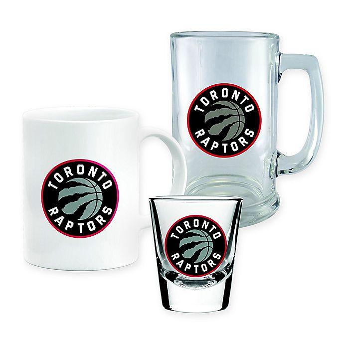 Alternate image 1 for NBA Totonto Raptors 3-Piece Drink Set