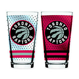 NBA Toronto Raptors 2-Piece Mixing Glass Set