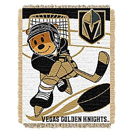 NHL Vegas Golden Knights Score Baby Woven Jacquard Throw Blanket