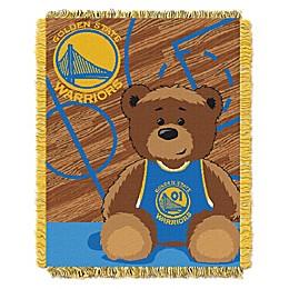 NBA Golden State Warriors Half-Court Woven Jacquard Throw Blanket