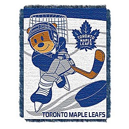 NHL Toronto Maple Leafs Score Baby Woven Jacquard Throw Blanket