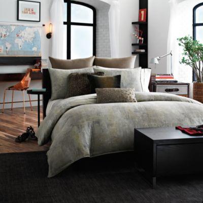 Kenneth Cole Reaction Home Mason Duvet Cover Bed Bath