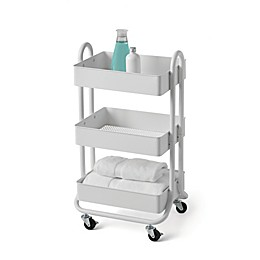 Salt Bath Storage Cart