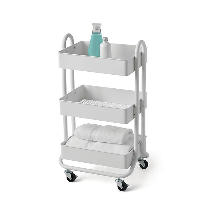Alternate image 1 for SALT™ 3-Tier Bath Storage Cart