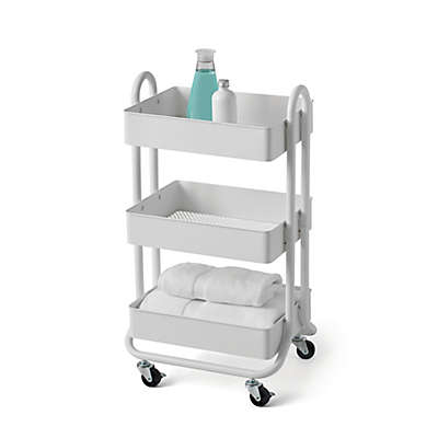 Salt  3-Tier Utility Cart