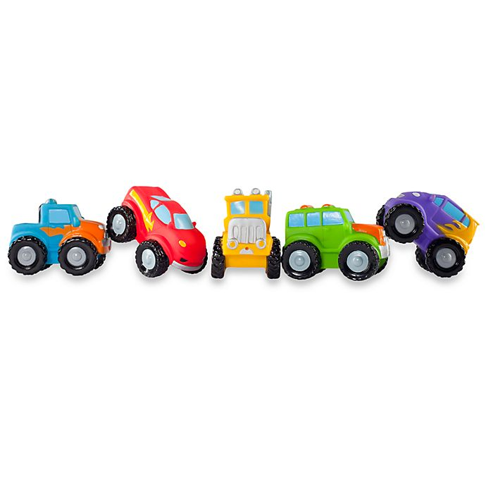 Alternate image 1 for Elegant Baby® Monster Truck Party Bath Squirties