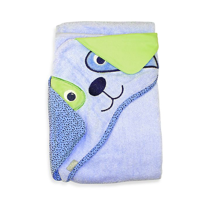 Alternate image 1 for Frenchie Mini Couture Extra-Large Dog Face Hooded Towel