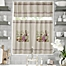 Part of the Provence Window Curtain Tier Pair and Valance