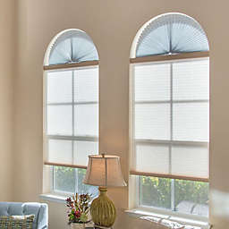 Redi Shade Arch Sheer View Window Shade in White