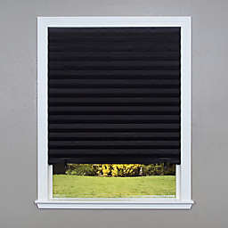 Redi Shade 4pk Blackout Cordless 36-Inch x 72-Inch Paper Window Shade in Black
