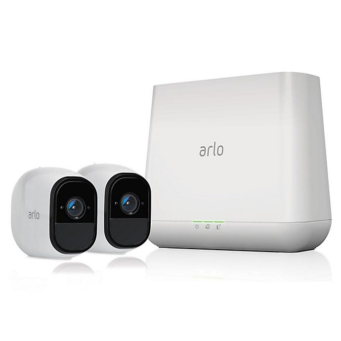 Alternate image 1 for Arlo® VMS4230100NAS Pro Smart Security System with 2 Cameras and Audio in White
