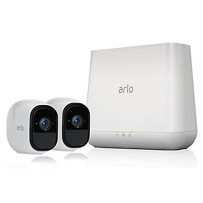 Arlo® VMS4230100NAS Pro Smart Security System with 2 Cameras and Audio in White