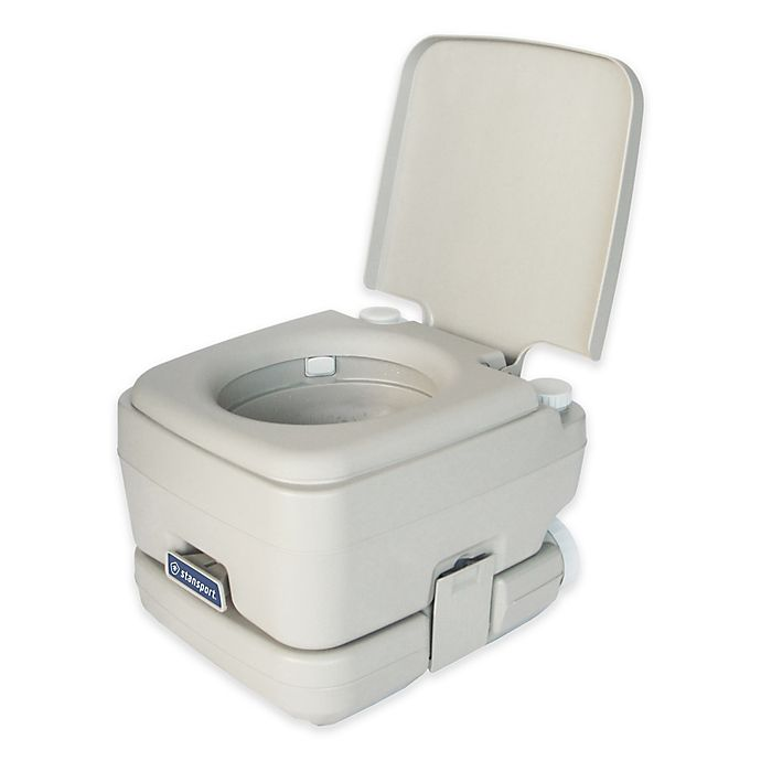 Alternate image 1 for Stansport™ Easy-Potty Portable Toilet in Grey