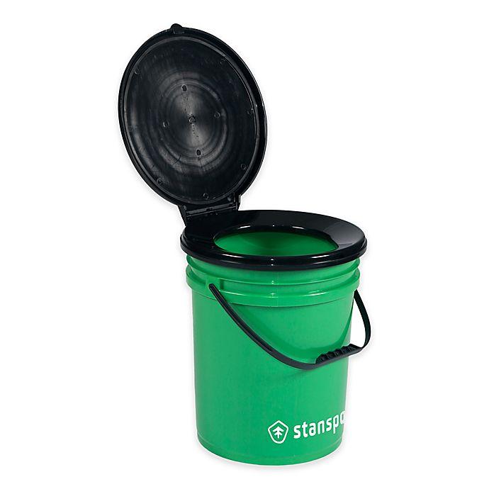 Alternate image 1 for Stansport® Toilet Bucket in Green