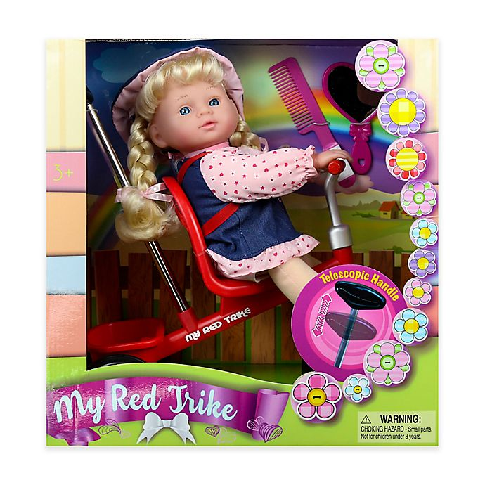 Alternate image 1 for Kid Concepts Baby Doll with Trike