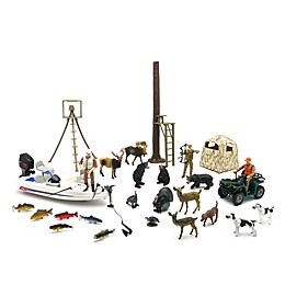 New-Ray Deluxe Hunting Playset