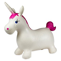 Freetime International Hop N' Bounce Unicorn in White