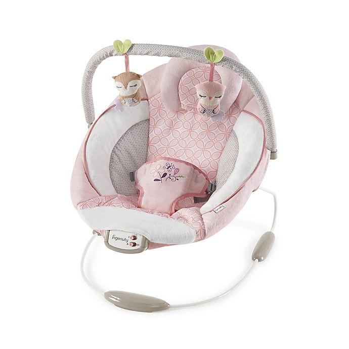 Alternate image 1 for Audrey Cradling Bouncer in Pink