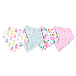 Copper Pearl 4-Pack Summer Bandana Bibs