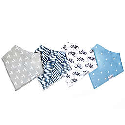 Copper Pearl 4-Pack Cruise Bandana Bibs