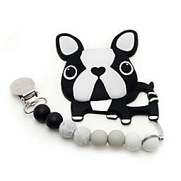 Loulou Lollipop Terrier Teether with Clip
