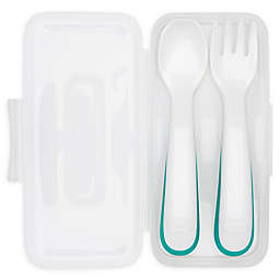 Oxo Tot® 2-Piece Toddler Fork & Spoon Travel Set