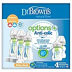 Dr. Brown's® Options+™ Newborn Wide-Neck Baby Bottle Set in Clear