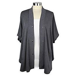 Itzy Ritzy® Athleisure Nursing Wrap in Grey