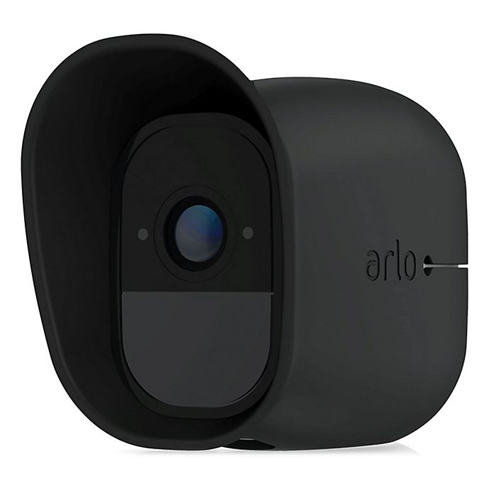 Alternate image 1 for Arlo® Pro Replaceable Silicone Skin Covers in Black (Set of 3)