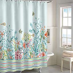 Cozumel 72-Inch x 72-Inch Shower Curtain in Aqua
