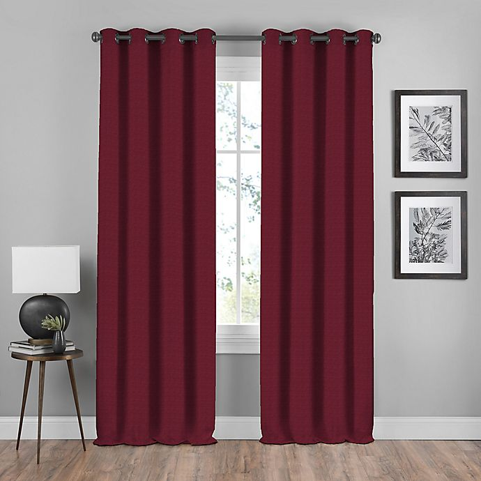 Alternate image 1 for Shauna Grommet Window Curtain Panel