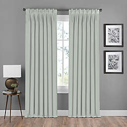 Shauna Pinch Pleat Back Tab Room Darkening Window Curtain Panel