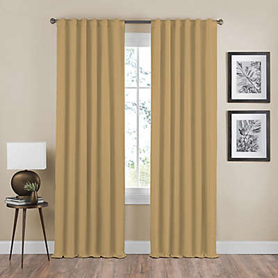 Shauna Rod Pocket/Back Tab Room Darkening Window Curtain Panel