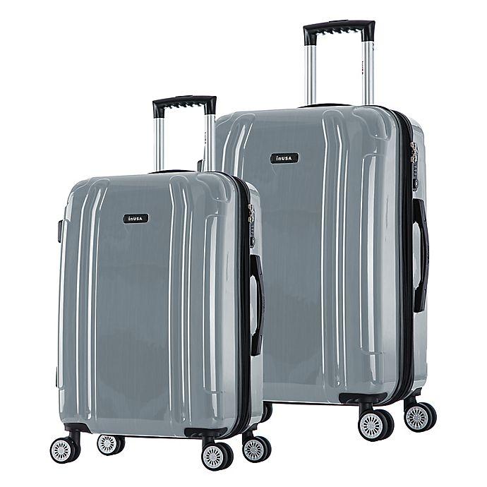 Alternate image 1 for InUSA SouthWorld Hardside Spinner Checked Luggage
