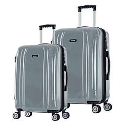 InUSA SouthWorld Hardside Spinner Checked Luggage