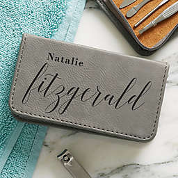 Stylish Name Personalized 8-Piece Manicure Set