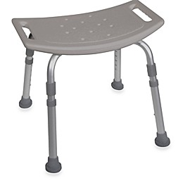 Drive Medical Bathroom Safety Shower Chair in Grey