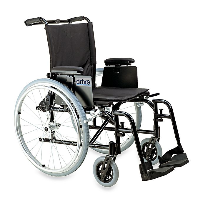 Alternate image 1 for Drive Medical Cougar Ultralight Aluminum 18-Inch Wheelchair
