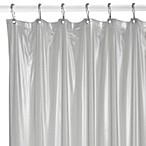 Medium Weight Shower Curtain Liner in Frosted