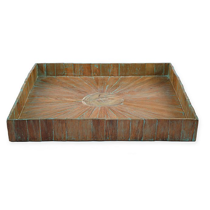 Alternate image 1 for My Zen Home™ Kenchuto Square 24-Inch Tray in Natural