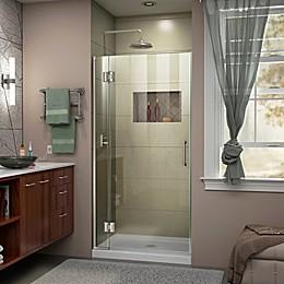 DreamLine® Unidoor-X 35-Inch x 72-Inch Frameless Hinged Shower Door