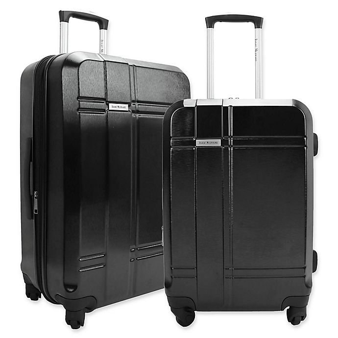 Alternate image 1 for Mizrahi Conway Hardside Spinner Checked Luggage
