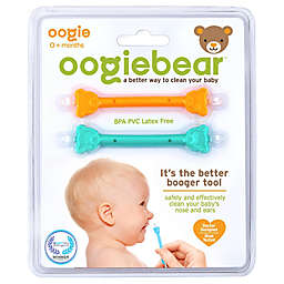 oogiebear® 2-Pack Infant Nose and Ear Cleaner in Orange/Seafoam by oogie solutions