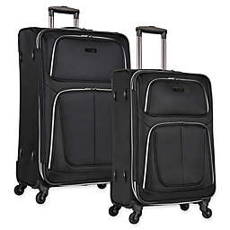 Kenneth Cole Reaction Lincoln Spinner Checked Luggage