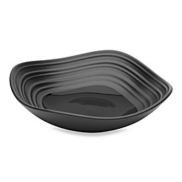 Mikasa® Swirl Square Fruit Bowl in Black